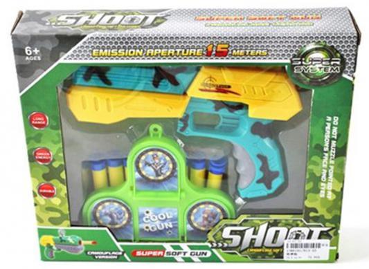 Бластер Shantou Gepai Shoot голубой желтый 6927613861917