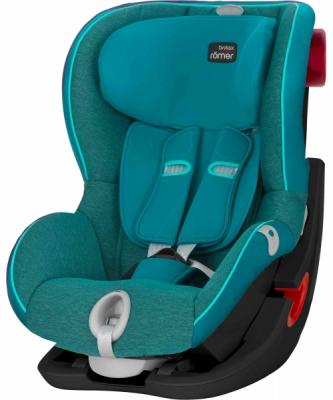 Автокресло Britax Romer King II LS Black Series (green marble highline)