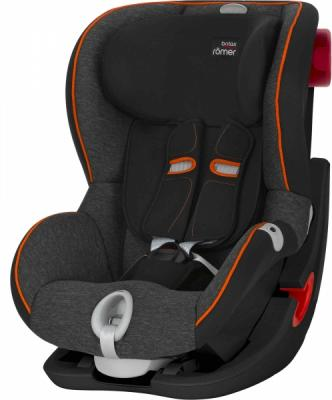 Автокресло Britax Romer King II LS Black Series (black marble highline) автокресло britax romer king ii black series moonlight blue