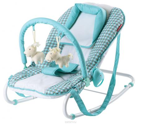 Шезлонг-люлька Happy Baby-8023 Т (aqua)