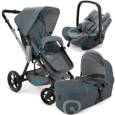 Коляска 3-в-1 Concord Wanderer Mobility Set 2015 (stone grey)