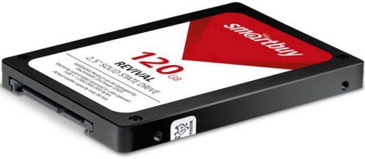 """Твердотельный накопитель SSD 2.5"""" 120GB Smartbuy Revival 2 550Mb/s Write 445Mb/s SB120GB-RVVL2-25SAT3 цена и фото"""