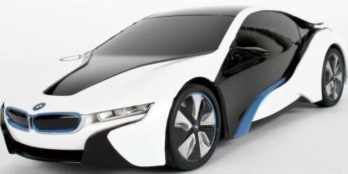 Машинка на радиоуправлении Rastar BMW I8 1:24 ассортимент от 3 лет пластик в ассортименте 48400 машинка на радиоуправлении rastar bmw i8 свет 1 14 ассортимент от 3 лет пластик в ассортименте 49600 11
