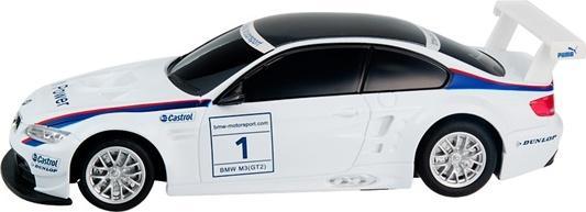 Машинка на радиоуправлении Rastar BMW M3 1:24 ассортимент от 3 лет пластик в ассортименте 48300 rastar радиоуправляемая модель bmw x6 цвет черный масштаб 1 24