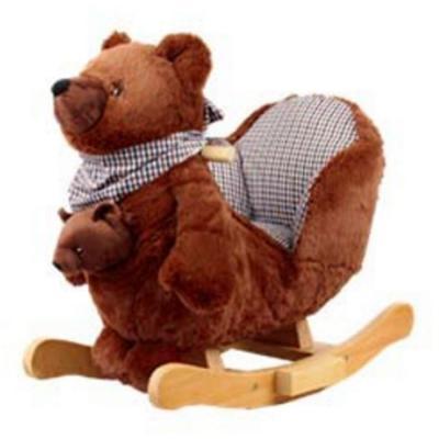 Качалка Rock My Baby Медведь (JR2588B)