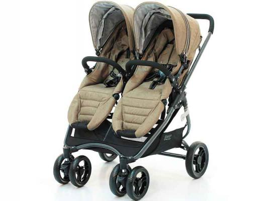 Коляска прогулочная для двойни Valco Baby Snap 4 Ultra Duo Tailormade (brown)