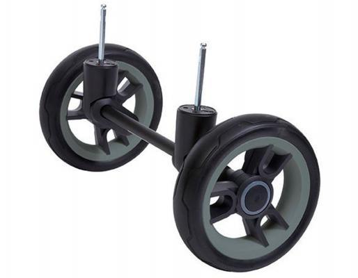 Сменный комплект колес для бездорожья Teutonia Cross Country Mistral/Fun (3WH/черный-серый