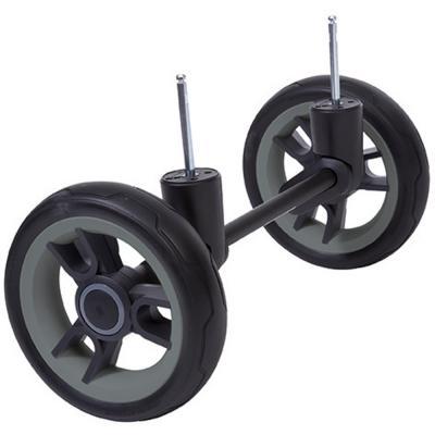 Сменный комплект колес для бездорожья Teutonia Cross Country BeYou/Cosmo (3WHL/черный-серый)
