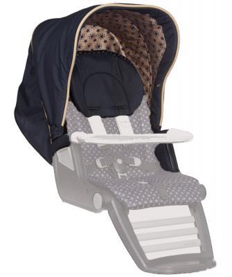 Сменный комплект Teutonia: капор + подлокотники + подголовник Set Canopy+Armrest+Headrest (цвет 6075) сумка teutonia 6020 sahara
