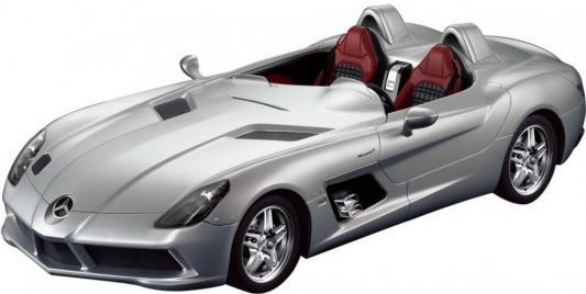 Купить Машинка на радиоуправлении Rastar Mercedes-Benz SLR, 1:12 серебристый от 8 лет пластик 42400, Радиоуправляемые игрушки