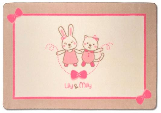Коврик 100х150см Fiorellino Lily Milly подушки для малыша fiorellino подушка lily milly 40х40 см