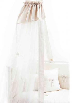 Балдахин на кроватку Fiorellino Premium Baby (крем)