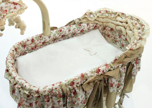 Комплект для электронной колыбели Fiorellino Premium Baby (крем)