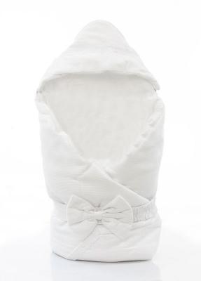 Одеяло-конверт 90х90см Fiorellino Premium Baby (белый)