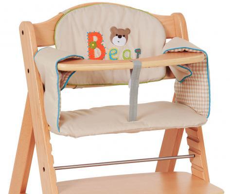 Вкладыш в стульчик Hauck Chair Pad Comfort ( bear )