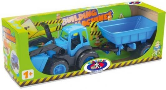 Трактор ZEBRATOYS 4660019430135 цвет в ассортименте 55,5 см лопата zebratoys двухцветная 66 см в ассортименте