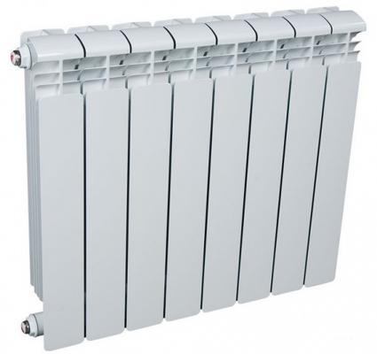 Радиатор алюминиевый Rifar Alum 500 500/90 8 секций 1464Вт алюминиевый радиатор rifar alum 500 6 сек
