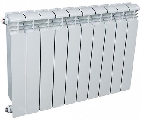 Радиатор алюминиевый Rifar Alum 500 500/90 10 секций 1830Вт алюминиевый радиатор rifar alum 500 10 сек