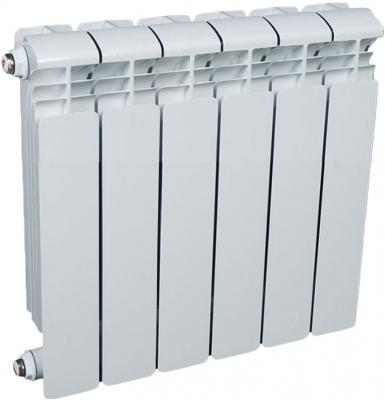 Алюминиевый радиатор Rifar Alum 350 350/90 9 секций 1251Вт биметаллический радиатор rifar рифар b 500 нп 10 сек лев кол во секций 10 мощность вт 2040 подключение левое