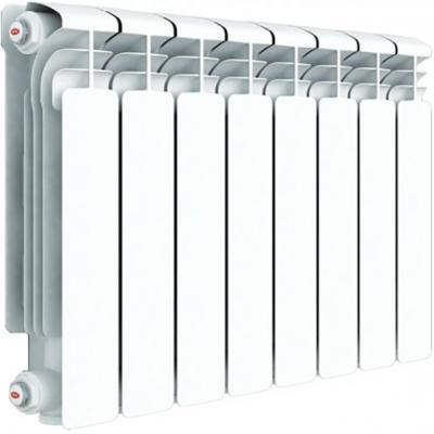 Алюминиевый радиатор Rifar Alum 350 350/90 14 секций 1946Вт алюминиевый радиатор rifar alum 350 350 90 10 секций 1390вт