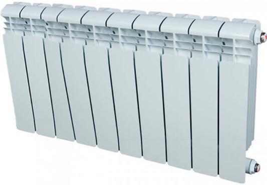 Алюминиевый радиатор Rifar Alum 350 350/90 12 секций 1668Вт левое подключение