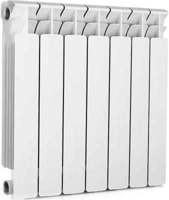 Радиатор алюминиевый Rifar Alum 500 500/90 7 секций 1281Вт правое подключение  алюминиевый радиатор rifar alum ventil avr 500 08