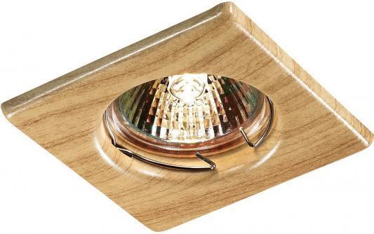 Встраиваемый светильник Novotech Wood 369716