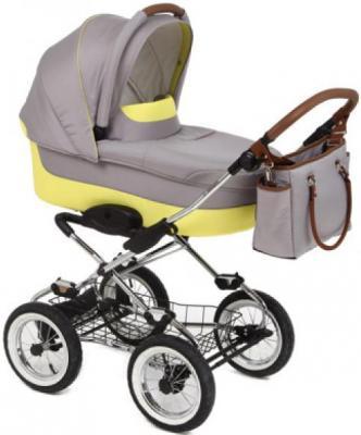"""Коляска для новорожденного Navington Caravel (колеса 12""""/цвет ibiza)"""