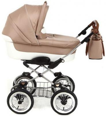 """Коляска для новорожденного Navington Caravel (колеса 12""""/цвет malta)"""
