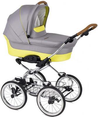 """Коляска для новорожденного Navington Caravel (колеса 14""""/цвет ibiza/EVA Wels)"""