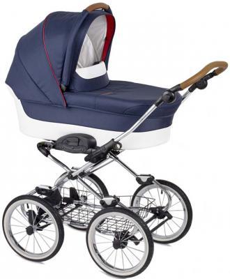 """Коляска для новорожденного Navington Caravel (колеса 14""""/цвет sardinia/EVA Wels)"""