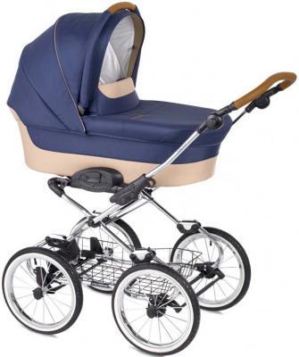 """Коляска для новорожденного Navington Caravel (колеса 14""""/цвет crete/EVA Wels)"""