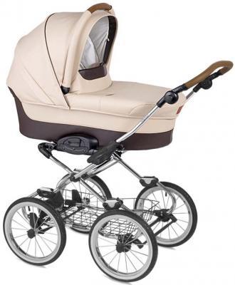"""Коляска для новорожденного Navington Caravel (колеса 14""""/цвет royal sand/EVA Wels)"""