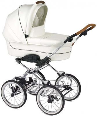 """Коляска для новорожденного Navington Caravel (колеса 14""""/цвет royal snow)"""
