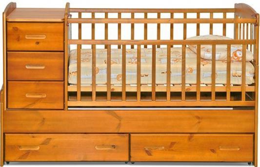 Кроватка-трансформер Noony Wood Chalet (медовый)