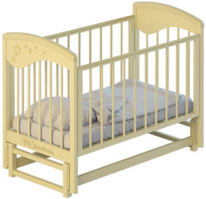 Кроватка с маятником Mr Sandman (ваниль)