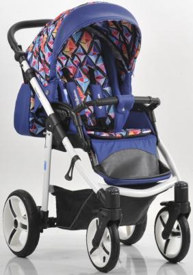 Прогулочная коляска Mr Sandman Traveler Premium (синий-кристаллы-синий/SL04) коляска mr sandman guardian 2 в 1 фиолетовый kmsg 043614