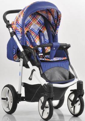 Прогулочная коляска Mr Sandman Traveler Premium (синий-кантри-синий/SL05)