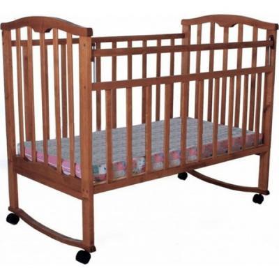 Кроватка-качалка Золушка-1 (вишня)