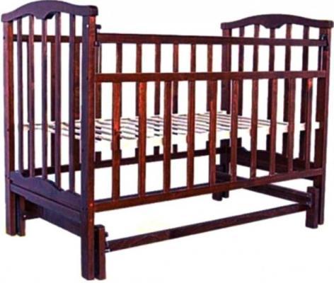 Кроватка с маятником Агат Золушка-3 (вишня) цены онлайн
