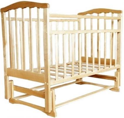 Кроватка с маятником Агат Золушка-3 (светлый) цены онлайн