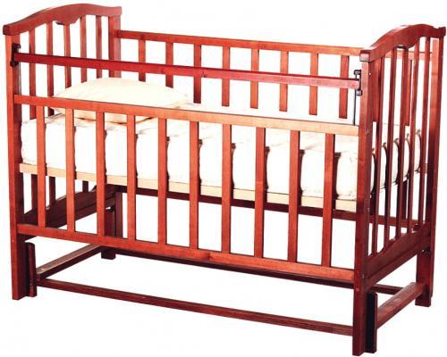Кроватка с маятником Золушка-5 (вишня)