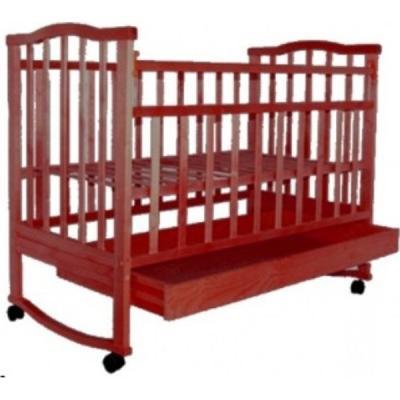 Кроватка-качалка Золушка-2 (вишня)