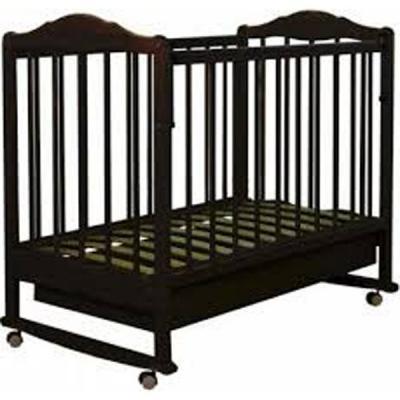 Кроватка-качалка Золушка-2 (шоколад)