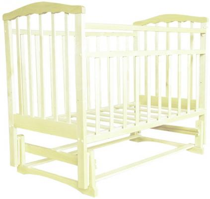 Кроватка с маятником Агат Золушка-3 (слоновая кость) цены онлайн