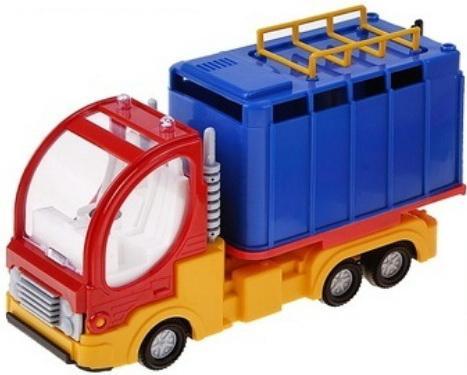 Купить Фургон Форма Малый фургон «Дальнобойщик» в ассортименте 18.5 см, ФОРМА, цвет в ассортименте, Игрушечные машинки