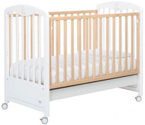 Кроватка Foppapedretti Peluche (naturale-bianco)
