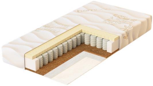 Купить Матрас 125х65х14см Plitex Bamboo Sleep, белый, Матрасы