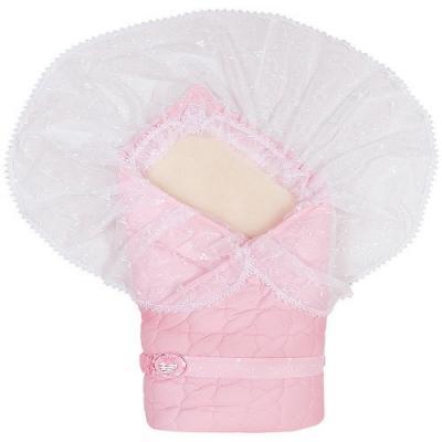Конверт-одеяло Сонный Гномик Зимушка (розовый)