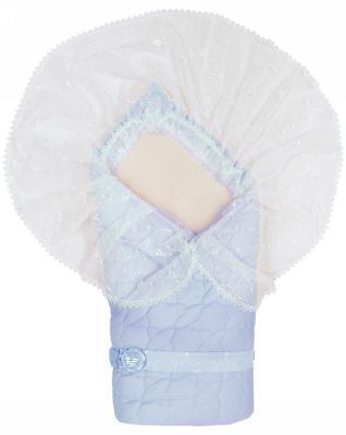 Конверт-одеяло Сонный Гномик Зимушка (голубой)
